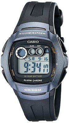 Casio Mens W210 1Bv Classic Resin Strap Digital Sport Watch