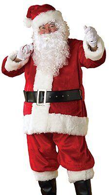 Rubies Crimson Premier Weihnachtsmann Weihnachten Einheitsgröße Plüsch (Rubies Weihnachtsmann Kostüm)