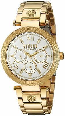 Versus by Versace Women's SCA030016 'Camden Market' Quartz Gold Crystals Watch