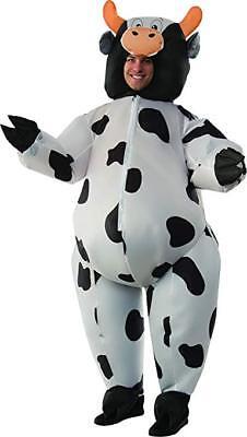 Rubies Aufblasbar Kuh Bauernhof Tier Stall Erwachsene Herren Halloween - Kuh Kostüm Aufblasbar
