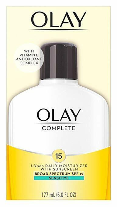 OLAY Complete All Day Moisturizer SPF 15, Sensitive Skin 6 o
