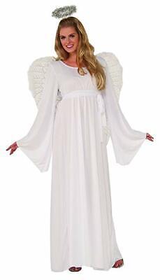 Christmas Angel Costumes (Forum Novelties Angel Dress Adult Plus Size Christmas Halloween Costume)