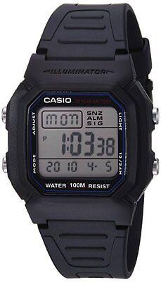 Casio Brand Mens Classic Sport Watch With Black Band W800h 1Av