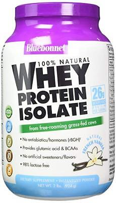 Bluebonnet Nutrition Whey Protein Isolate Powder, Vanilla Flavor, 2 Pound  Bluebonnet Whey Protein Isolate