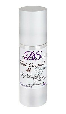 (Diva Stuff Thai Coconut & Oxygen-8 Face Cream, Anti-Aging & Moisturizer)
