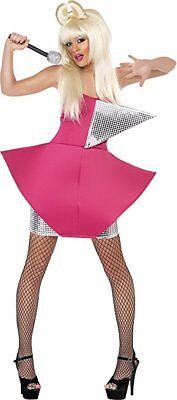 Smiffy's - Divakostüm Lady Gaga Tänzerinkostüm Tänzerin sexy glamour Gr. 34 XS