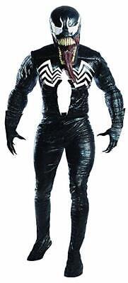 Charades Venom Marvel Comics Bösewichte Böse Adult Herren Halloween Mode (Marvel Venom Kostüm)