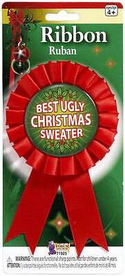 Best Ugly Ugliest Christmas Sweater Award Contest Winner