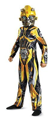 Disguise Transformers Bumblebee Klassisch Autobots Jungen Halloween Kostüm (Jungen Bumble Bee Kostüme)