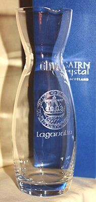 Usado, LAGAVULIN ISLAY CREST SINGLE MALT SCOTCH WHISKY GLENCAIRN WATER CARAFE segunda mano  Embacar hacia Argentina