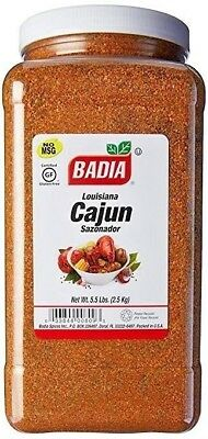 Badia Louisiana Cajun Seasoning 5.5 Lbs Restaurant Special Price Free Shipping