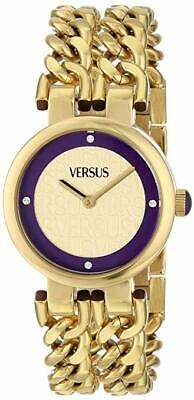 Versus by Versace Women's SGR050013 Berlin Japanese Quartz Gold Watch