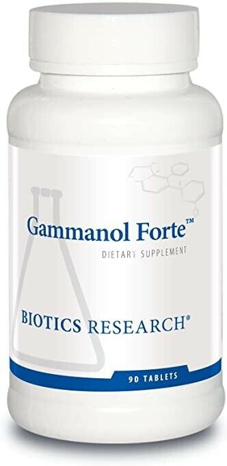 Biotics Research, Gammanol Forte 90 Tablets