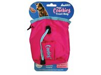 Coachies puppy training treat bag, brand new, pink