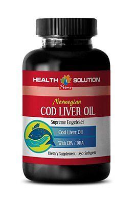 Cod liver oil capsules - NORWEGIAN COD LIVER OIL - 1B - better overall (Best Cod Liver Oil Capsules)