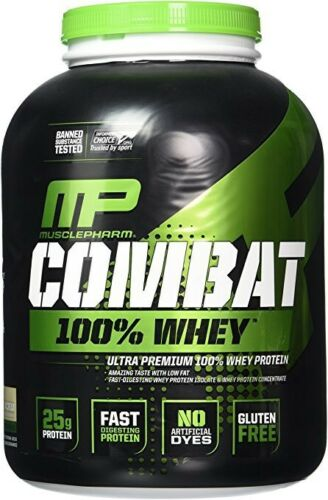 muscle pharm combat 100 percent whey protein
