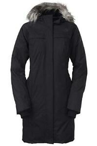 Women's Black The North Face Arctic Parka - Size Small