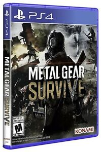 Metal gear survive PlayStation 4 - brand new