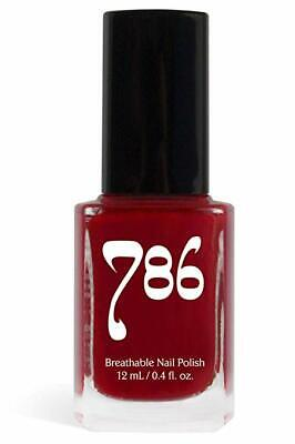 786 Halal Certified Nail Polish Red (Agra) Fast Dry Vegan Nail Polish