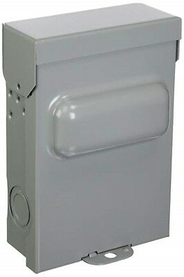 New Mars 60 Amp Non-fused Ac Disconnect Shut-off Box 1 Phase 240 Volt 83335