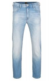 BARGAIN @ £10, £10 Lee® Arvin regular fit jeans with modern tapered leg.