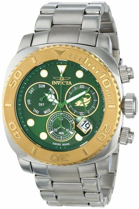 Invicta Men's 14648 Pro Diver Analog Display Swiss Quartz Silver Watch
