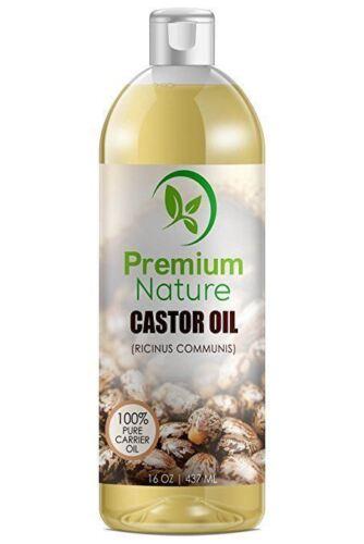 Cold Pressed, Hexane-free Castor Oil - Best Moisturizer for