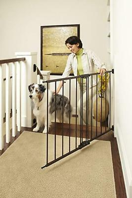 """Supergate Easy Swing Lock Gate Baby Pet Dog 28.68"""" to 47.85"""" W 31"""" Tall 3DAYSHIP"""