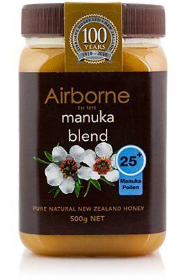 5 x 500g New Zealand AIRBORNE PURE MANUKA HONEY 25+ ***BEST PRICE