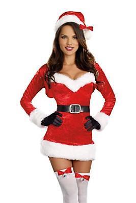 Dreamgirl Santa Baby Mrs Klaus Winter Sexy Erwachsene Damen Weihnachten Kostüm ()