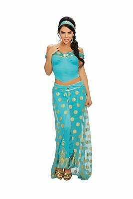 yal Princess Jasmine Adult Womens Halloween Costume 11576 (Halloween-kostüme Royal Princess)
