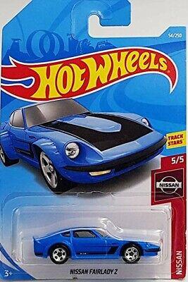 2019 Hot Wheels Nissan Series Fairlady Z Blue 5/5