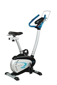 As-New York C202 Computerised Exercise Bike Bicycle Cycle RRP £299, unwanted gift