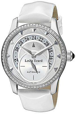 Louis Erard Women's 92600SE01.BDV12 Emotion Automatic White DIAMONDS Date Watch