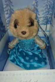 Ayana as Elsa, Frozen Meerkat toy