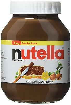 Nutella Hazelnut spread 1KG - FREE POSTAGE
