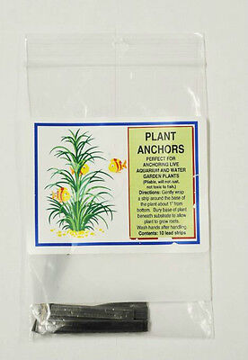 10 Pack of Live Plant Anchors / Weights for Aquarium Fish Tank Lead