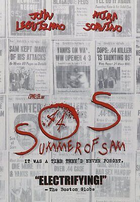 Summer Of Sam   Dvd  Spike Lee   Mira Sorvino   Adrien Brody Brand New