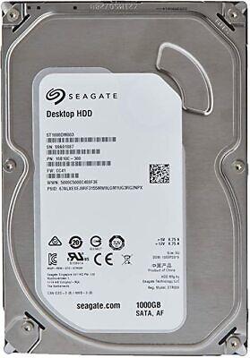 Seagate 1TB 7200 RPM Desktop SATA HDD 6Gb/s 3.5-Inch Internal Drive(ST1000DM003)