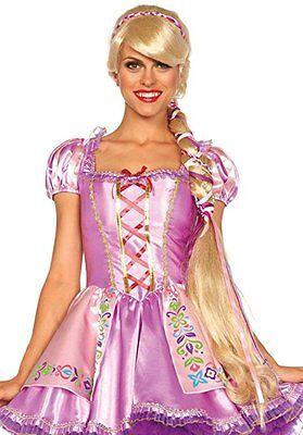 Leg Avenue Rapunzel Märchen Disney Erwachsene Damen Halloween Kostüm Perücke