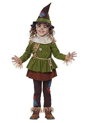 California Kostüme Vogelscheuche Zauberer von oz Kleinkind Halloween Kostüm