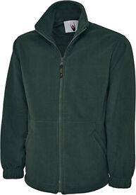 Mans Fleece Jacket 2XL Bottle Green