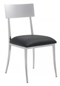BLACK & WHITE LEATHERETTE DINING CHAIR COUNTER STOOL BAR STOOL Peterborough Peterborough Area image 3