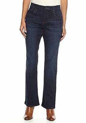 Comfort Bootcut Jean (LEE Women's Petite Comfort Fit Nellie Barely Bootcut Jean Pant, )