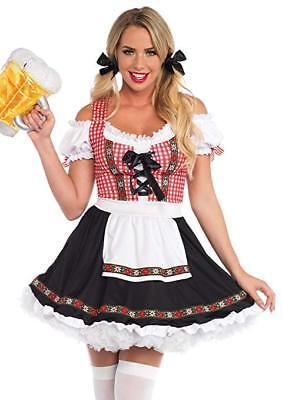 Leg Avenue Bier Garten Babe Oktoberfest Erwachsene Damen - Biergarten Damen Kostüm