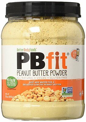 BetterBody Foods PB Fit Powder Peanut Butter 30 Ounce