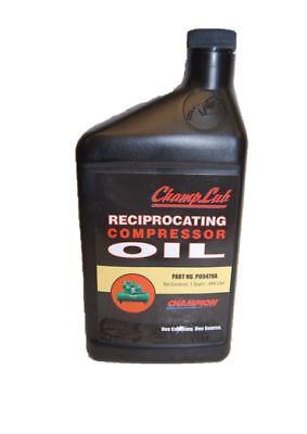 Champion P09479a Quart Of Reciprocating Air Compressor Lubricant Oil
