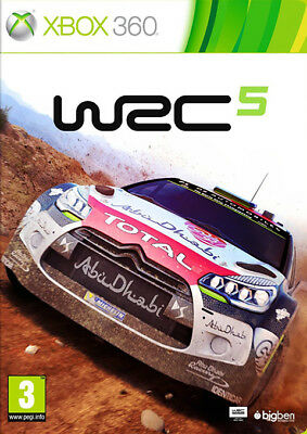 WRC 5 ~ XBox 360 (in Great Condition)