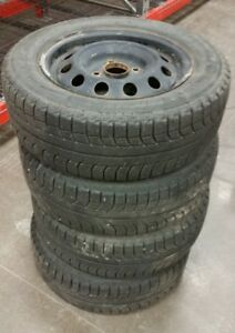 Winter tires and steel wheels -Michelin X-Ice 195/65/15