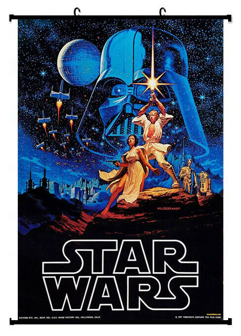 Star wars IV 4 Retro Framed Poster with hooker 24x36 INCH